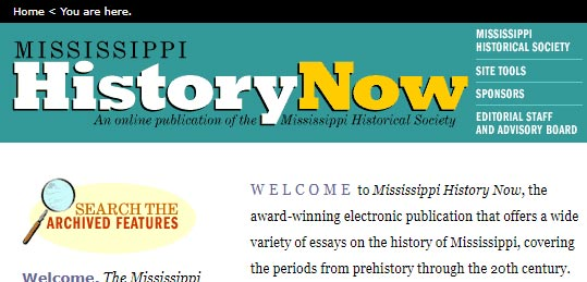 Mississippi History Now