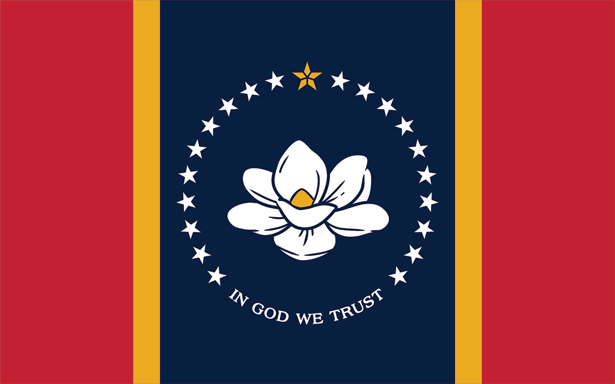 The Commission Choose the New Magnolia Flag and Renames it the In God We Trust Flag